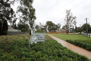 Anita Cobby Reserve in Douglas Rd Blacktown. The murder of Anita Cobby, shook Sydney to the bone.