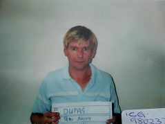 An early arrest Picture of Peter Dupas.