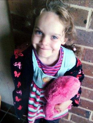 Little girl lost ... Kiesha Weippeart