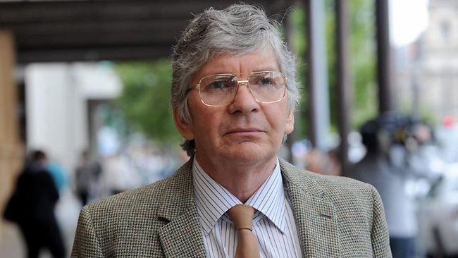 Peter John Marshall aka Peter Leith, outside the District Court today