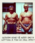 Graham Henry and Neddy Smith during their time in prison circa 1996-002-pola