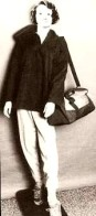 Life-sized mannequin of Elizabeth Stevens