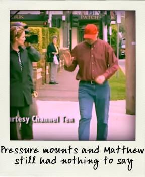 Matthew still had nothing to say-pola