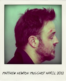 NEWTON MUGSHOT APRIL 2012