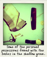Some of the personal possessions found with the bodies in the shallow grave.-aussiecriminals