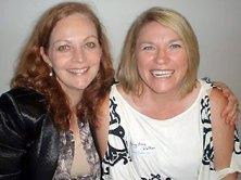 Allison and her best friend Kerry Anne Walker