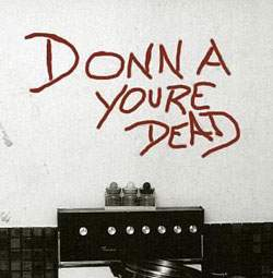 Donna You're Dead-writing on the wall_aussiecriminals