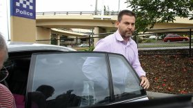 """Gerard Baden-Clay """"helping police with their enquires"""""""