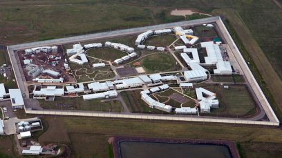 An aerial shot of Barwon Prison.