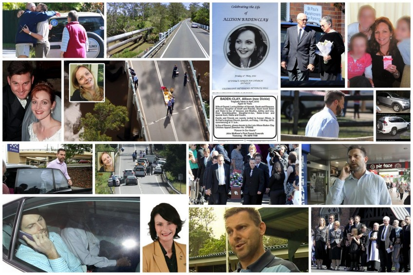 GBC Collage...He is on trial charged with the Murder of his wife Allison Baden-Clay