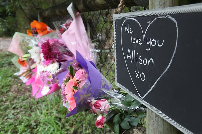 Flowers for Allison, may justice has been served
