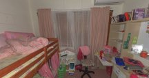 Among of the photos are pictures inside the bedrooms of Gerard and Allison's three children