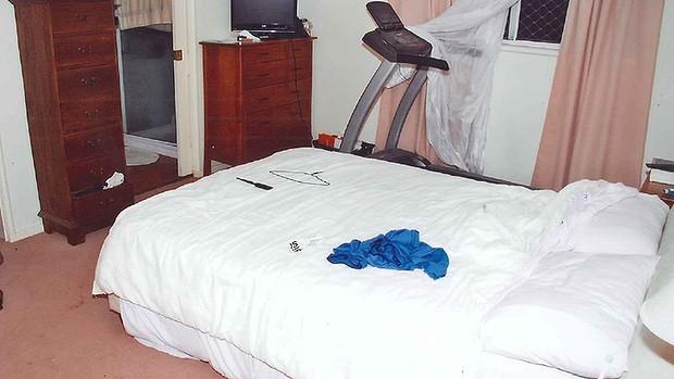 bedroom exhibit