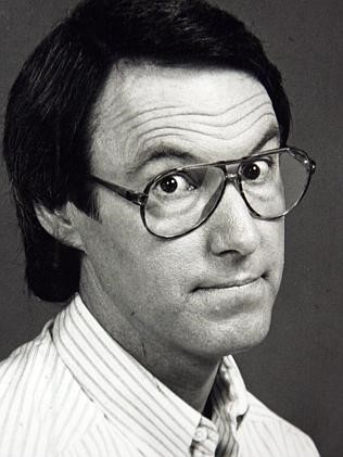 Hughes in a publicity still for the popular Channel Seven show.
