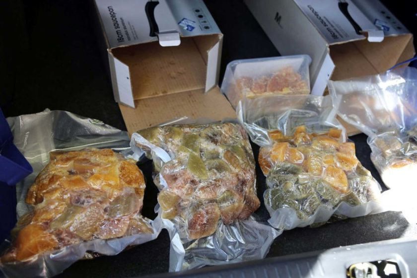 Police say the nine kilograms of ice seized would be worth around $9 million on the street.