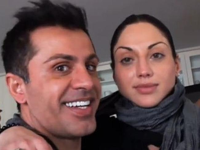 Simon Gittany and Lisa Harnum. Sentenced to 26 years for tossing her off a highrise balcony