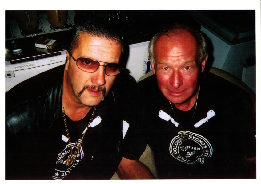 Mark 'CHOPPER' Read & Roger 'THE DODGER' Rogerson