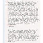 One of several letters from Caroline Robertson. [2]