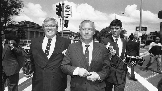 The media attention around Roger Rogerson in the 1980s was huge