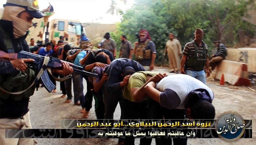 ISIS Claims Massacre of Iraqi Soldiers032
