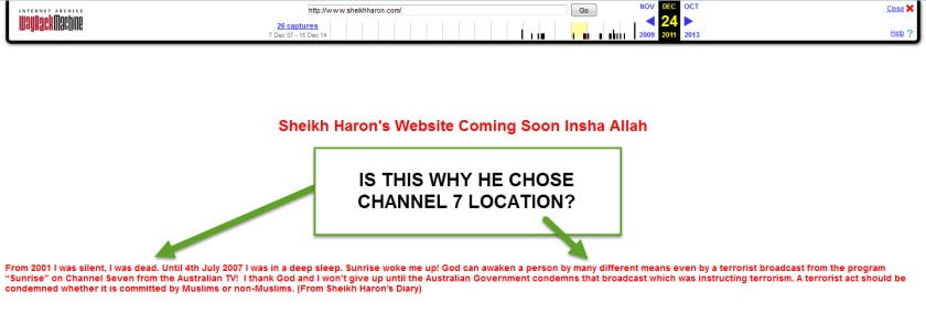 Haron promise