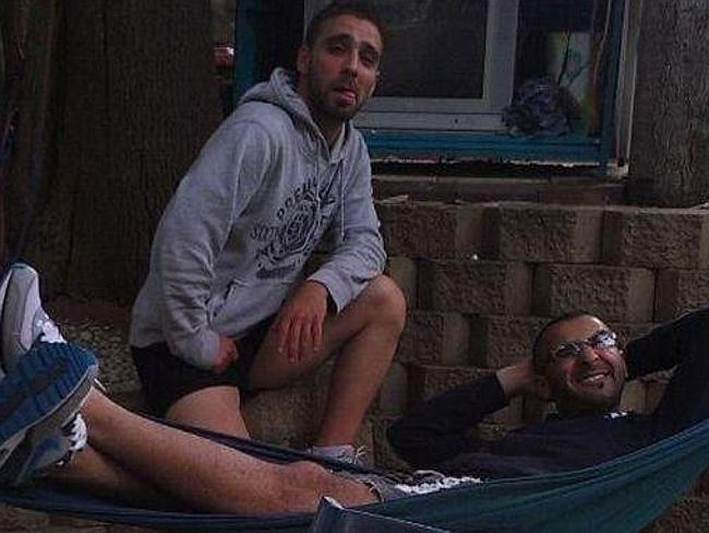 Omar al-Kutobi, a computer science student, and Mohammad Kiad, who moved into the property only last year
