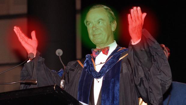 The messiah and KING Former Knox Grammar headmaster Ian Paterson
