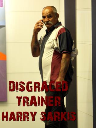 trainer Harry Sarkis