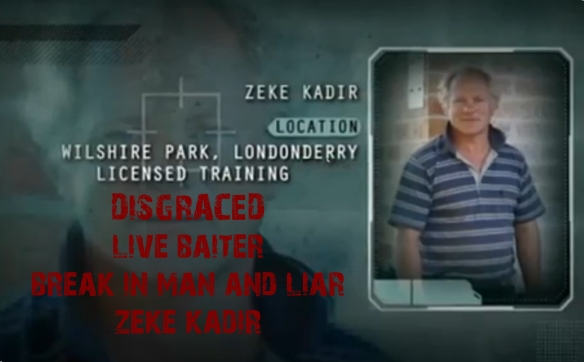 ZEKE KADIR, TRAINER break-in Centre, Wilshire Park, Londonderry, NSW