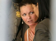 2004_ Schapelle Corby being interviewed by police soon after her arrest in Bali
