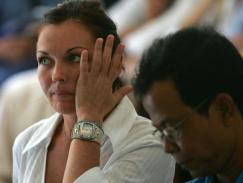 2005_ Convicted drug trafficker Schapelle Corby tearful in Denpasar District Court, Bali on the first day of her reopened trial