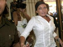 August 2006_ Australian drug trafficker Schapelle Corby is escorted to a holding cell at a court house in _0025